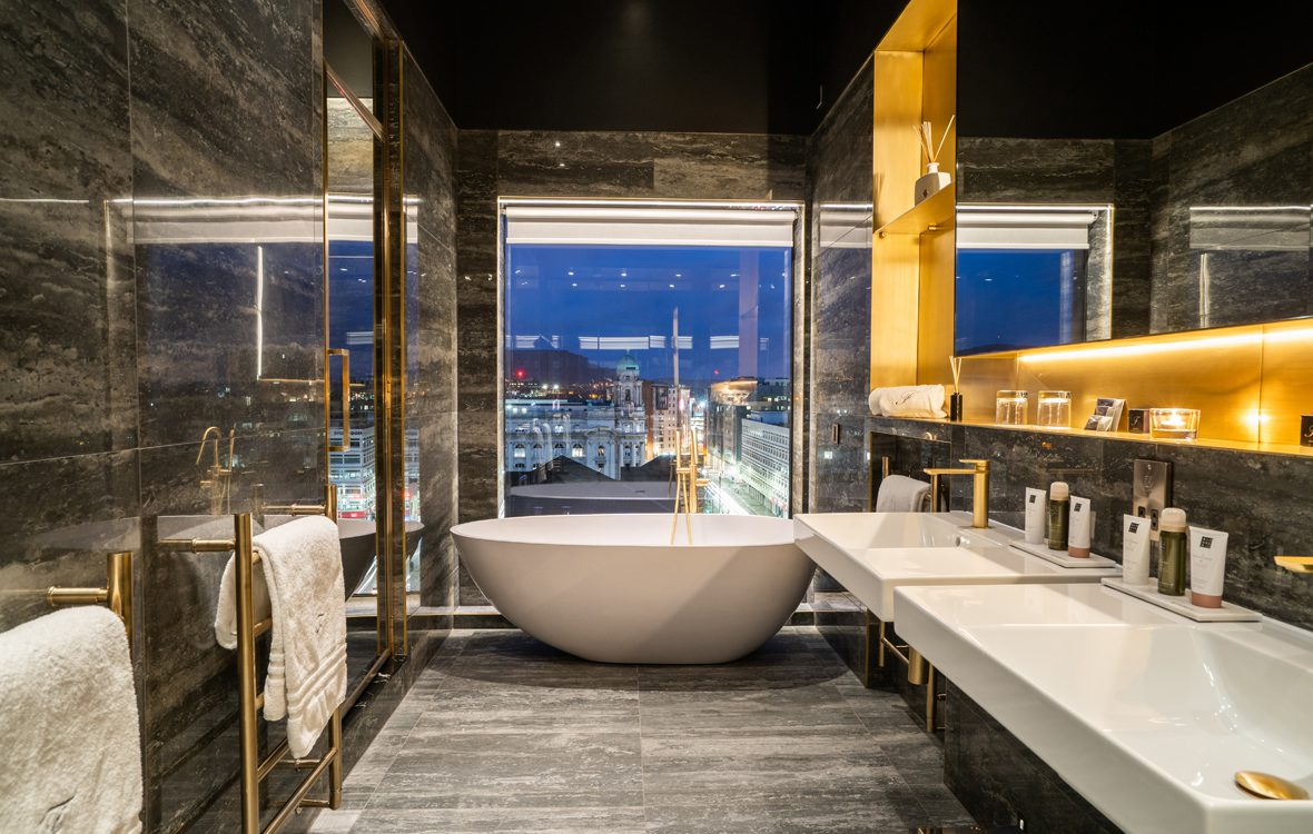 Bathroom in The Penthouse