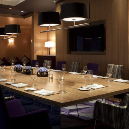Private Dining Room at The Fitzwilliam Hotel Belfast
